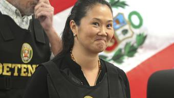 Soll Ende April 2020 aus der Untersuchungshaft freikommen: Perus Oppositionschefin Keiko Fujimori, Tochter des früheren Präsidenten Alberto Fujimori. (Archivbild)