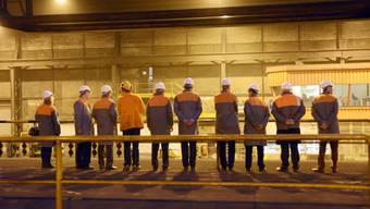 Solothurner Industrietag im Stahlwerk Gerlafingen