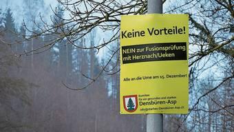 Mit 228 zu 121 Stimmen hat der Souverän von Densbüren in einer Referendumsabstimmung einen Gemeindeversammlungsentscheid bestätigt