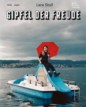 Das Plakat zum neuen Soloprogramm «Gipfel der Freude».