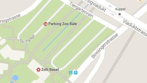 Unbekannte haben zwei junge Männer in der Nähe des Parkplatz Zoo angegriffen.