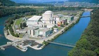 Die zwei Reaktoren im aargauischen Beznau.