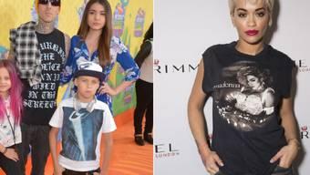 Rita Oras neues Herzblatt ist ein Mann mit Anhang: Travis Barker nimmt seine drei Kinder fast überall mit (Archiv).