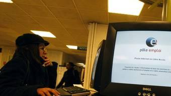 Eine Arbeitslose in einem Jobcenter in Paris (Symbolbild)
