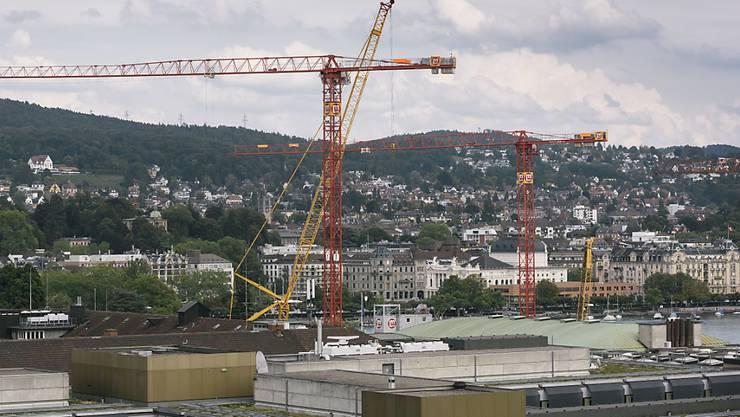 Die Bauarbeiten am Zürcher Kongresshaus verzögern sich. (Archivbild)
