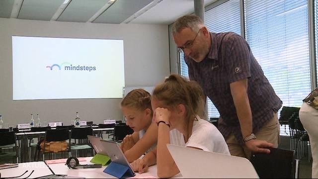 Startschuss für das Lernprogramm Mindsteps