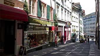 Ein neuer Laden zieht an den Spalenberg.