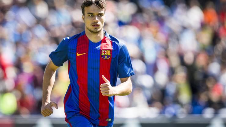 Zwei Jahre spielte Jérémy Guillemenot für Barcelona B. Mit Messi hat er nur im Training gespielt.