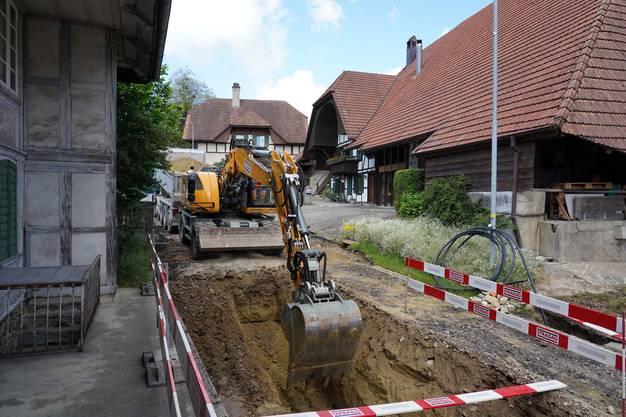 Strassensanierung in Mühledorf