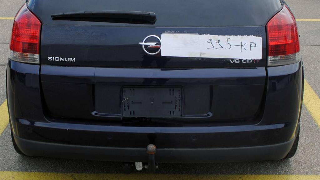 Luzerner Polizei stoppt Autofahrer in Sempach