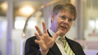 Der Liestaler GLP-Landrat Gerhard Schafroth (55) hofft auf 20 Prozent der Stimmen – um dann auf einen Sieg im zweiten Wahlgang.