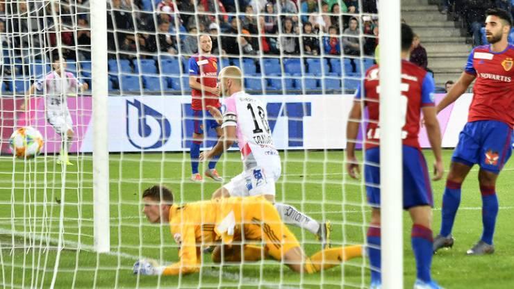 Der FC Basel ist gegen Linz in Rücklage.