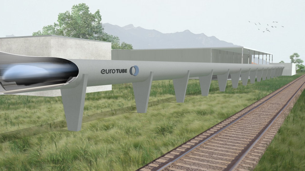 SBB bauen Hyperloop-Teststrecke im Wallis