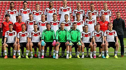 Deutschland nach 7:1 gegen Brasilien im WM-Final