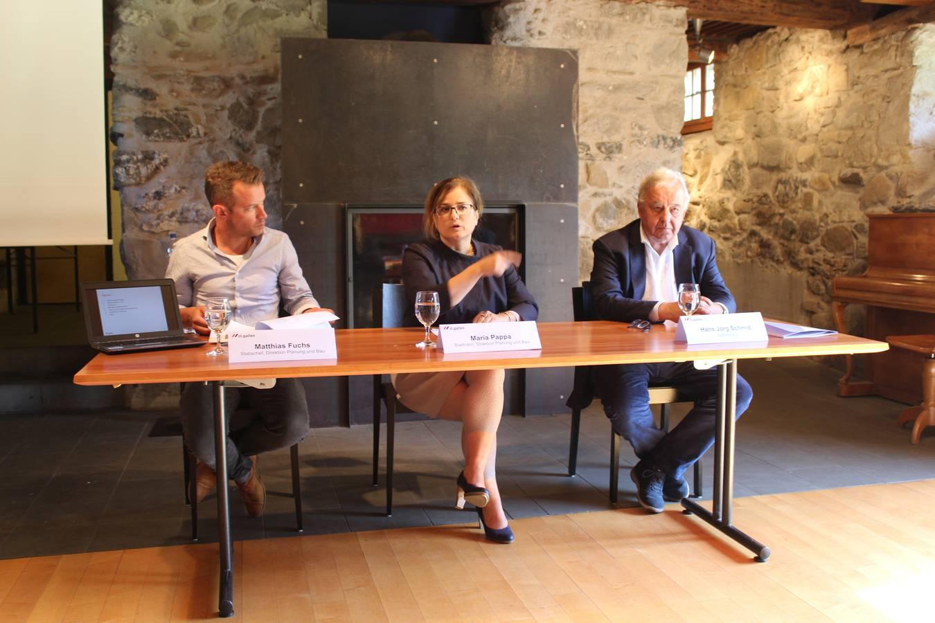 Am 16. September 2019 verkündete die Gemeinde St.Gallen den Kauf des Burgweiher Areals. (© FM1Today/Linus Hämmerli)