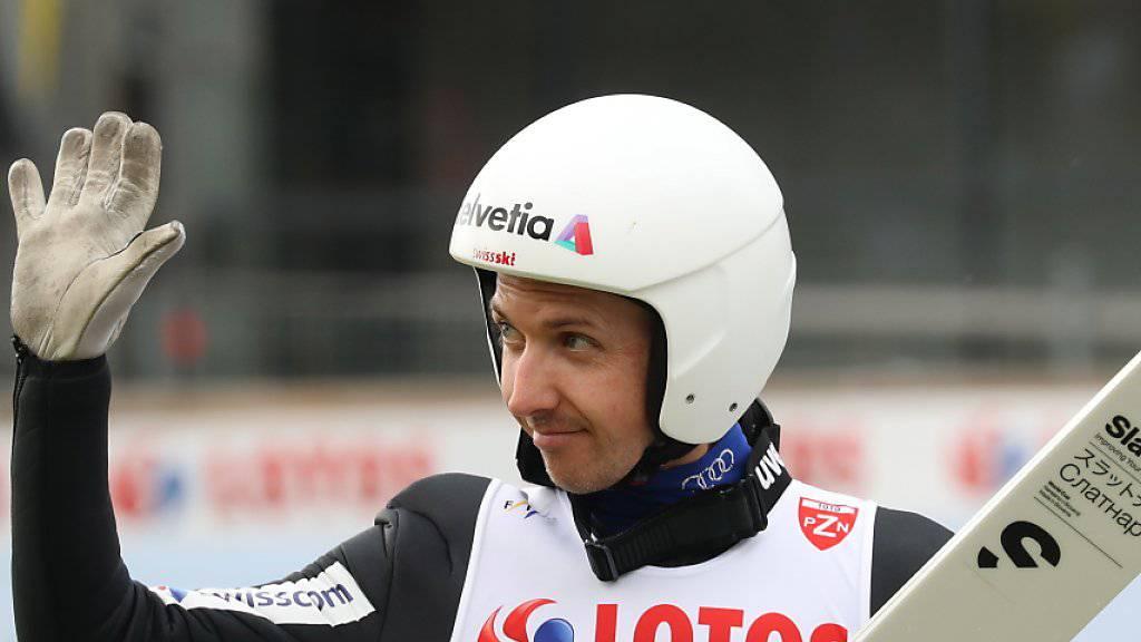 Simon Ammann glänzt in Japan im Rahmen des Sommer-Grand-Prix mit einem 7. Rang