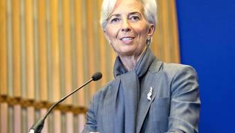 Christine Lagarde ermutigt Notenbanken zur lockeren Geldpolitik. (Archivbild).