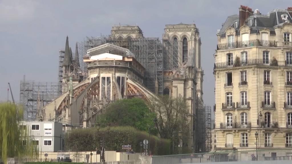 Notre-Dame de Paris: Ein Jahr nach dem Feuer steht die Baustelle still