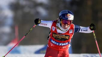 Fanny Smith freute sich am Ende auch über die Silbermedaille