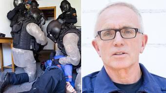 Hauptmann André Zumsteg über die Argus-Gründung: «Sie erfolgte in der Zeit, als linksextremistische Terrororganisationen in Europa blutige Anschläge verübten.»