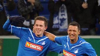 Hoffenheim erreicht die Cup-Viertelfinals