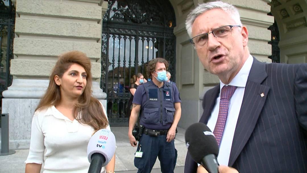 """SVP-Glarner greift Grüne Arslan an: """"Hier herrscht Recht und Ordnung - das gab es in deinem Staat nicht!"""""""