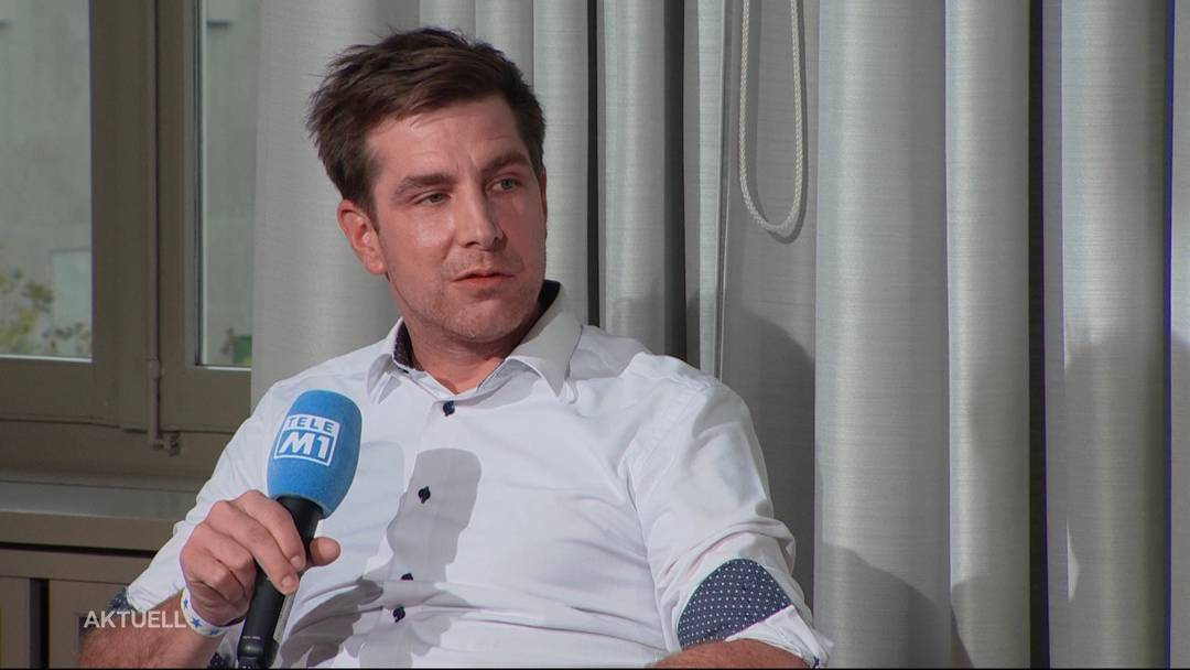 Aargauer Grüne wollen SVP-Parteisekretär nicht als höchsten Aargauer. Ein Bericht von TeleM1.