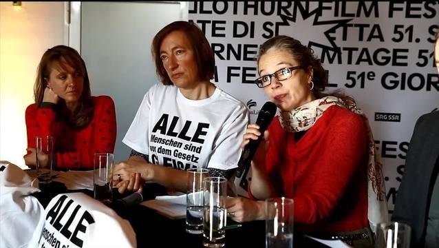 Schweizer Künstler sagen «Nein» zur Durchsetzungsinitiative.
