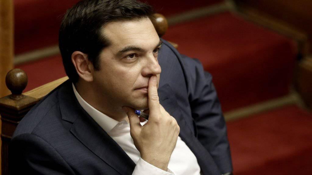 Kampf gegen Steuerdelikte und Korruption: Dies hat sich Tsipras für die zweite Amtsteit auf die Fahnen geschrieben - falls er denn gewählt wird.