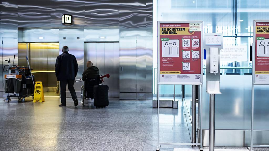 Flughafen Zürich leidet weiter unter Corona-Pandemie
