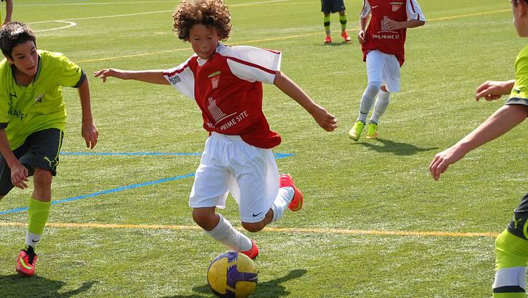 Der Nachwuchs des FC Solothurn profitiert von der Zusammenarbeit des Vereins mit der Swiss Prime Site