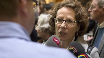 Umstrittenene SP-Regierungsratskandidatin: Felicitas Zopfi