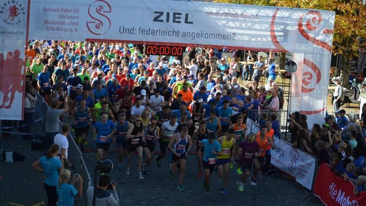 Start Hauptlauf über 11,5 km