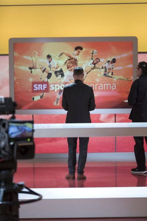 Matthias Hüppis letztes Sportpanorama (© Srf/Oscar Alessio//Keystone/Gaetan Bally)
