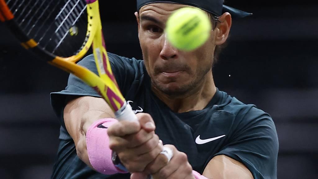 Ins Auge gegangen: Rafael Nadal unterlag im Halbfinal des Masters-1000-Turniers in Paris-Bercy dem Deutschen Alexander Zverev
