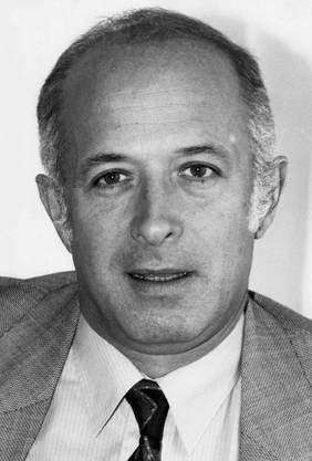 Roy Oppenheim Schweizer Radio- und Fernsehmanager