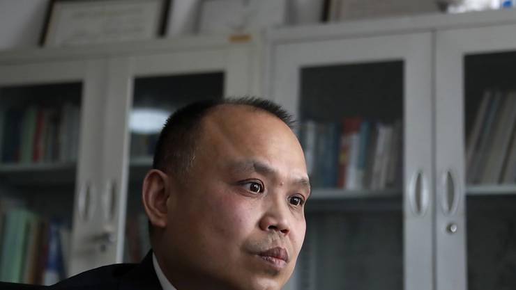 Der chinesische Bürgerrechtsanwalt Yu Wensheng ist am Freitag festgenommen worden. (Archiv)