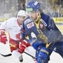 Matchwinner für den HC Davos gegen Davos: Luca Hischier erzielte in der letzten Minute der Verlängerung den 2:1-Siegtreffer