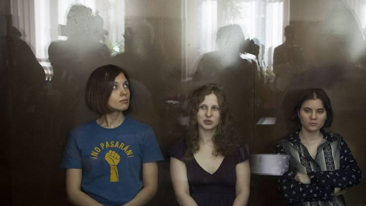 Der Prozess um die Moskauer Perfomerinnen Pussy Riot generierte weltweite Empörung.