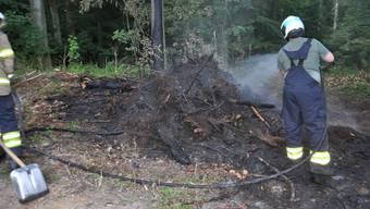 Waldbrand Niedergösgen