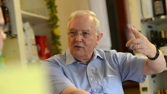 «Jetzt, während eine Untersuchung der Staatsanwaltschaft läuft, laufe ich nicht davon», sagt Hans Rudolf Gysin. (Archiv)