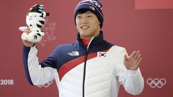 Yun Sungbin ist Südkoreas Olympia-Held im Skeleton