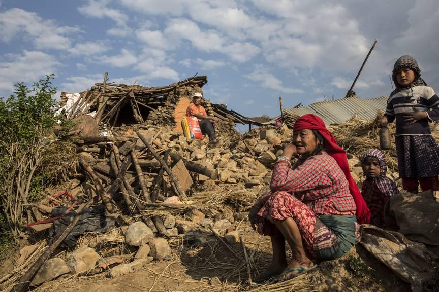 Nach Schätzungen wurden über 600'000 Gebäude beschädigt.