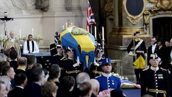 Grosse Anteilnahme an der Trauerfeier für Prinzessin Lilian