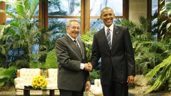 «Einen neuen Tag» sah Obama in den Beziehungen zwischen Kuba und den USA anbrechen. Castro sah «noch einen langen und komplexen Weg».