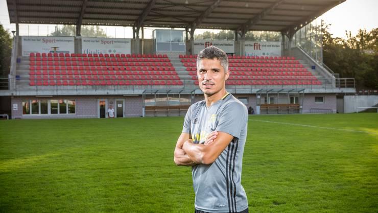 Cristian Ianu spielt am Sonntag mit dem FC Muri gegen St. Gallen.