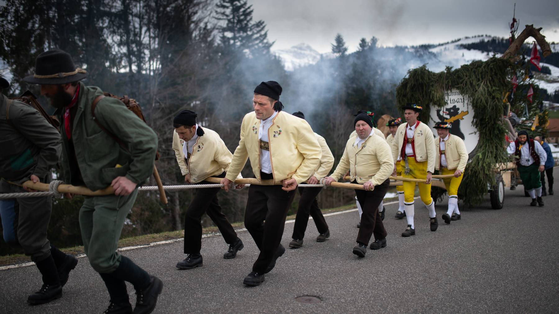 Der Bloch-Umzug hat im Kanton Appenzell Ausserrhoden eine lange Tradition.
