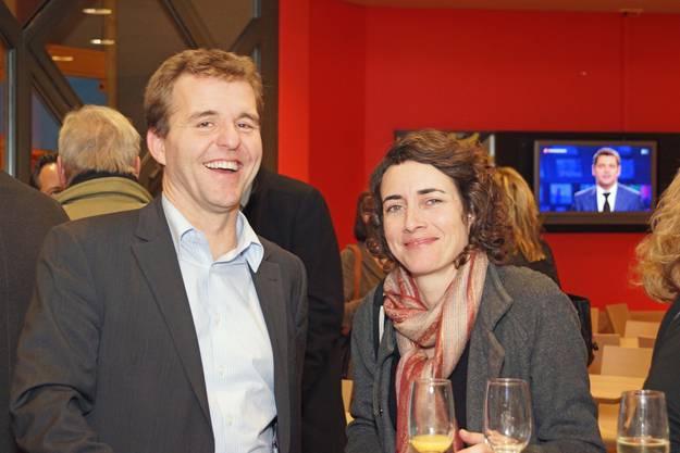 Thomas Roth, Credit Suisse und Jasmina Ritz, StandortförderungDietikon