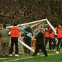 Der Torfall von Madrid ereignete sich vor dem Halbfinal-Hinspiel zwischen Real Madrid und Borussia Dortmund am 1. April 1998
