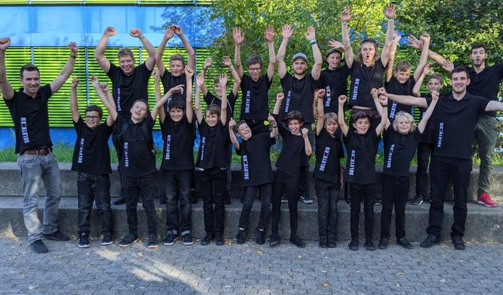 Unsere Trommelschüler am Jungtambourenfest in Enfelden